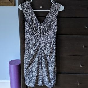 NWT Marble V-Neck Dress